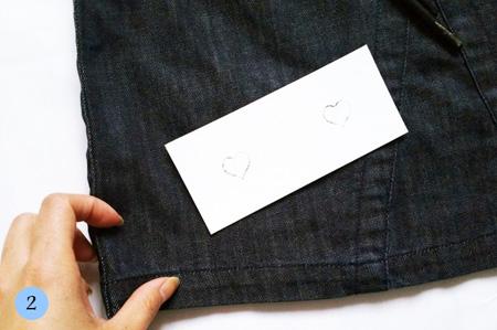 نقاشی روی دامن,آموزش تصویری نقاشی روی لباس