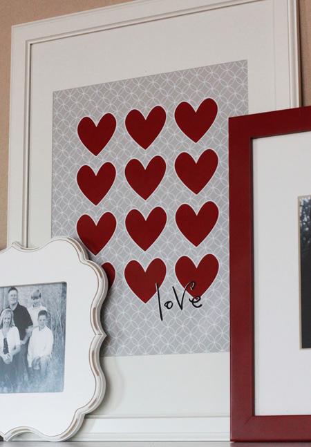 کارت پستال های روز عشق, ایده هایی برای ساخت کارت پستال های ولنتاین