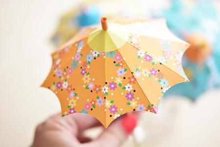 آموزش تصویری ساخت چتر تزیینی,نحوه ساخت چتر تزیینی