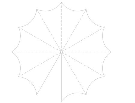 ساخت چتر تزیینی,آموزش ساخت چتر تزیینی