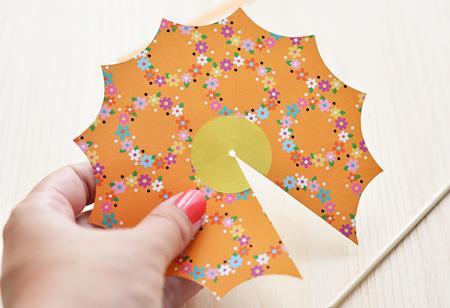 ساخت چتر تزیینی زیبا, مراحل درست کردن چتر تزیینی