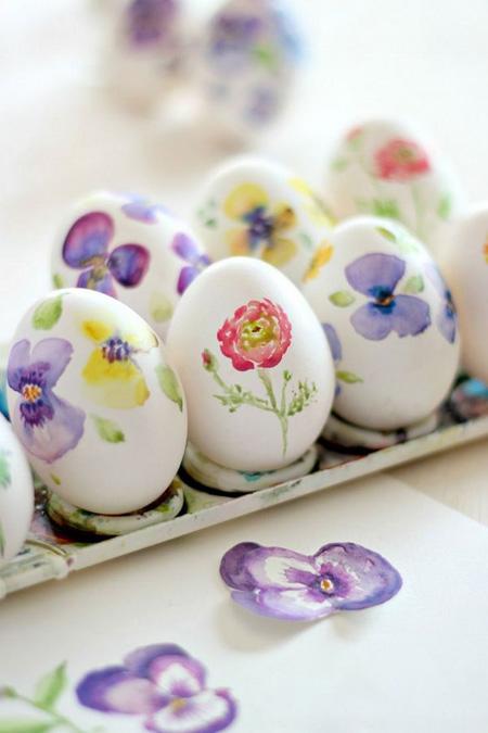 آموزش تزیین تخم مرغ هفت سین,تخم مرغ هفت سین