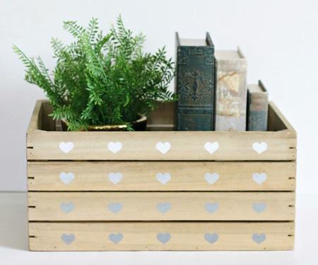 آموزش ساخت جعبه ی رمانتیک,نحوه درست کردن جعبه ی رمانتیک