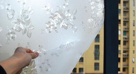 طرز جداکردن برچسب شیشه مات کن,نحوه جداکردن برچسب شیشه مات کن