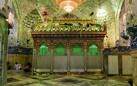 عکس داخل حرم حضرت ابوالفضل
