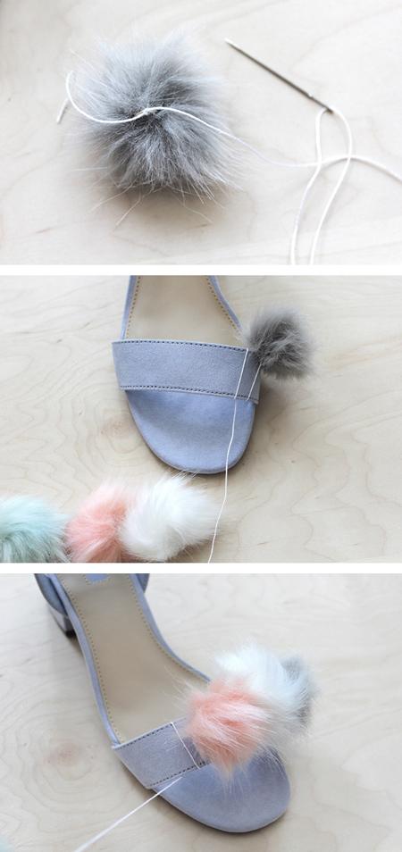 طرز تغییر دادن ظاهر کفش, آموزش تغییر دادن ظاهر کفش