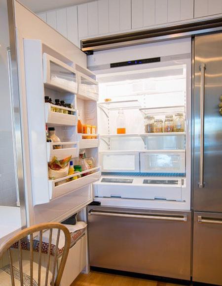 تنظیم دمای یخچال, اصول مرتب کردن یخچال