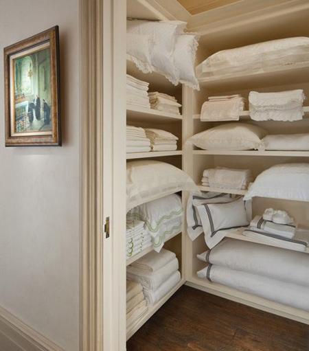 راه و روش مرتب کردن کمد رختخواب,نکات خانه داری