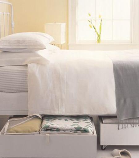 راهنمای مرتب کردن رختخواب,اصول مرتب کردن کمد رختخواب