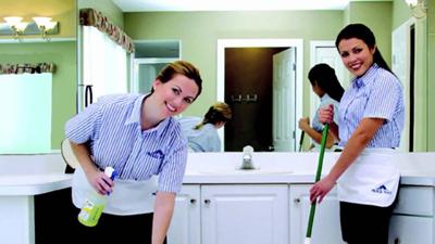 راهنمای تمیز کردن خانه, شیوه تمیز کاری خانه