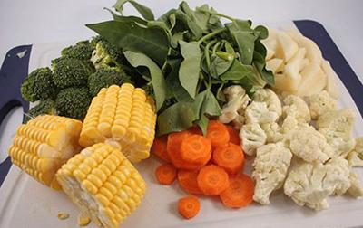 استفاده از سبزیجات معطر,استفاده از سبزیجات در آشپزی