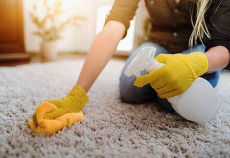 نحوه تمیز کردن لکه جوهر از روی فرش, راهنمای از بین بردن انواع لکه ها
