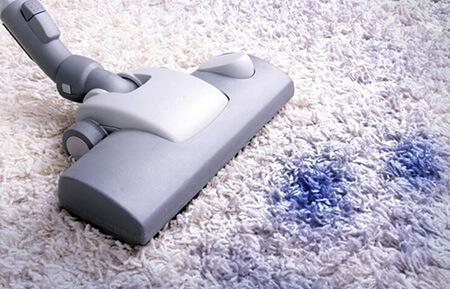 تمیز کردن لکه جوهر از روی فرش, از بین بردن انواع لکه