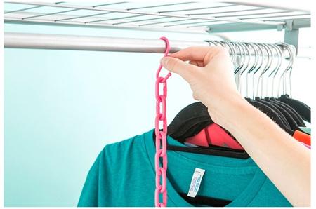 آویزان کردن لباس زیاد در فضای کوچک,مهارت های مرتب کردن لباس ها