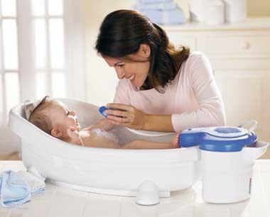 نحوه شستن موهای نوزاد