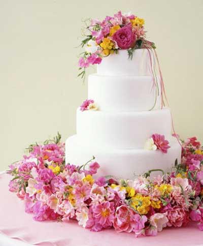 عکس کیک عروسی , کیک عروسی