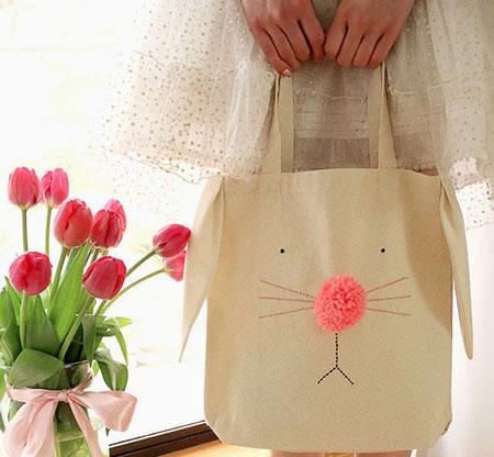 آموزش تصویری تزیین یک کیف دستی ساده!