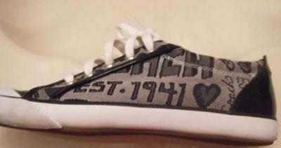 نحوه تمیز کردن کفش ها , تمیز کردن کفش های سفید