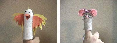 آموزش تصویری عروسک انگشتی, نحوه درست کردن عروسک انگشتی