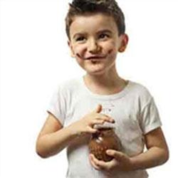 لکه شکلات روی لباس, تمیز کردن لکه های شکلات