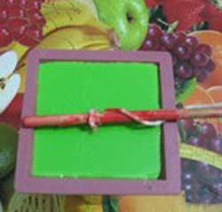 درست کردن شمع قالبی , شمع قالبی شکل هندوانه