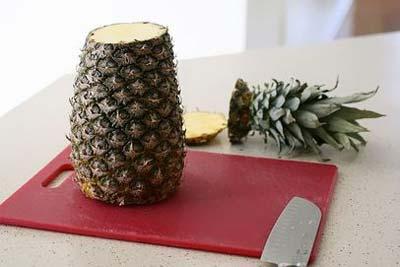 نحوه درست کردن گل با آناناس , مدل های تزیین آناناس