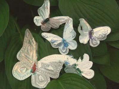 ساخت پروانه های آلومینیومی, نحوه ساخت پروانه های تزیینی