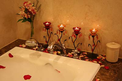 تزیینات سرویس بهداشتی عروس, تزیین حمام عروس