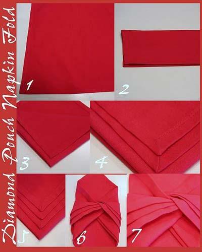 تزءین دستمال سفره (1)