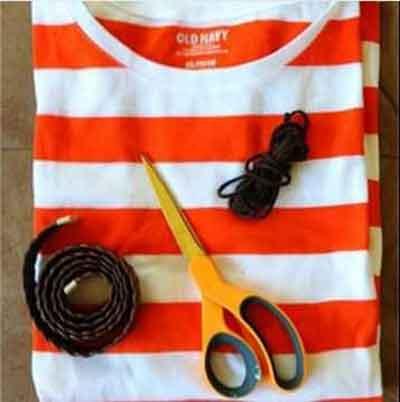 درست کردن کیف با تی شرت, درست کردن کیف شیک