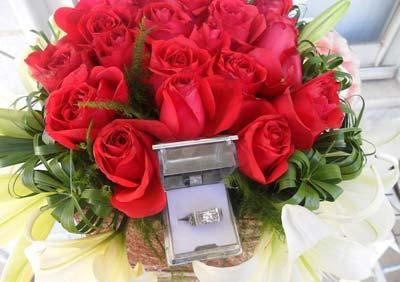 زیباترین دسته گل نامزدی , گل های نامزدی