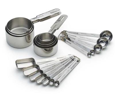 اندازه گیری در آشپزی,وزن پیمانه ها در آشپزی