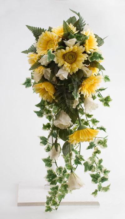 دسته گل آبشاری سال 95 , دسته گل عروس 2016