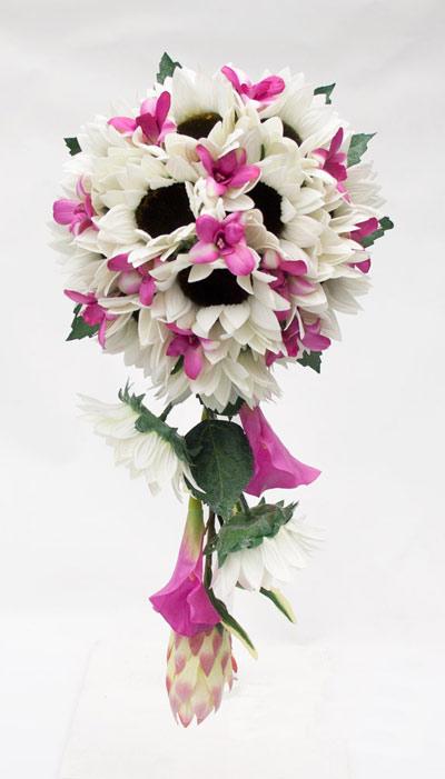 دسته گل آبشاری , دسته گل عروس 2013