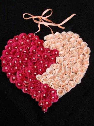 آموزش ساخت آویز قلبی(هنر در خانه)