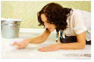شست و شوی فرش, تمیز کردن فرش, پاک کردن فرش