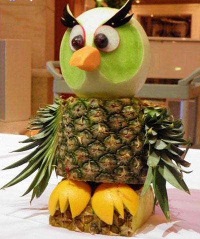 تزیین میوه به شکل حیوانات , مدل های تزیین میوه