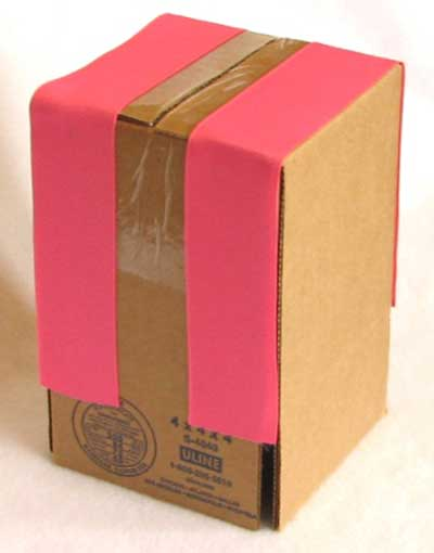 تزیین جعبه برای گل سر, ساخت جعبه گل سر