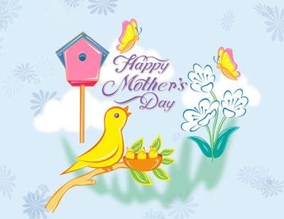 کارت پستال روز مادر,کارت پستال روز زن