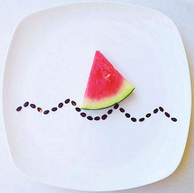 تزیین بشقاب غذا , مدل تزیین غذا
