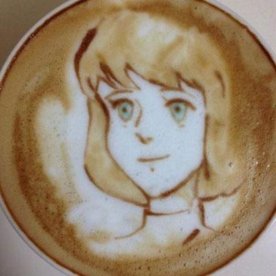 تزیین شیر و قهوه , درست کردن شیر و قهوه