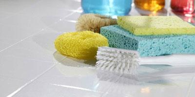 نحوه تمیزکردن سرامیک , شستشوی سرامیک