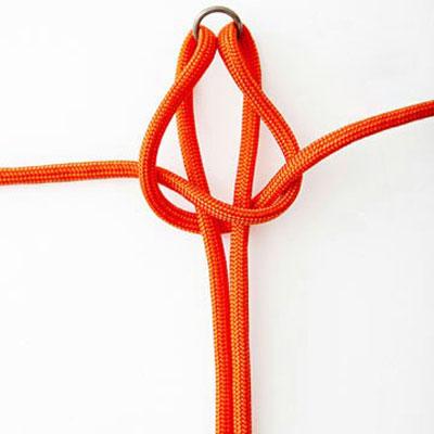 درست کردن دستبندهای گره دار, ساخت دستبند گره دار