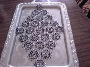 آموزش درست کردن رومیزی, درست کردن رومیزی با منجوق