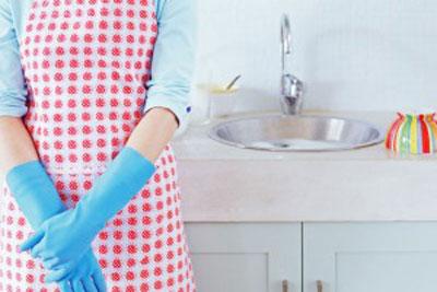 تمیز کردن آشپزخانه, نحوه تمیز کردن آشپزخانه