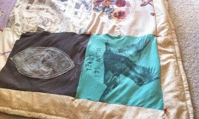 کارایی تی شرت های قدیمی,درست کردن گردنبند با تی شرت