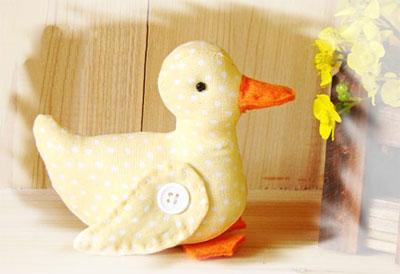 آموزش دوخت عروسک پارچه ای, دوخت اردک پارچه ای
