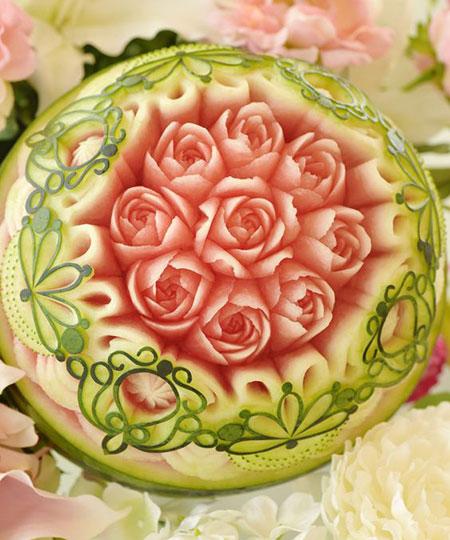 طراحی و تزئین هندوانه