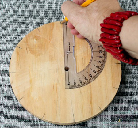 نحوه ساخت ساعت چوبی, آموزش تصویری ساخت ساعت