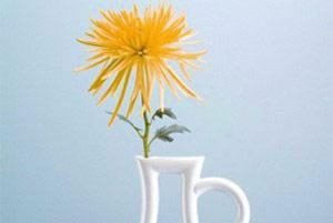 درست کردن گلدان با پایه شمعدان,آموزش تصویری ساخت گلدان